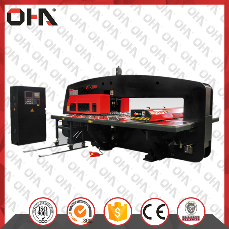 VT Series CNC Hydraulic Turret Punch Machine