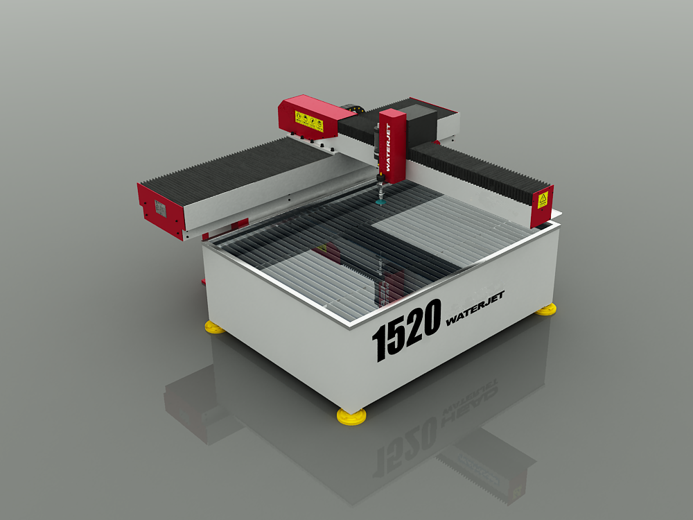 1520 Water Jet Cutting Machine