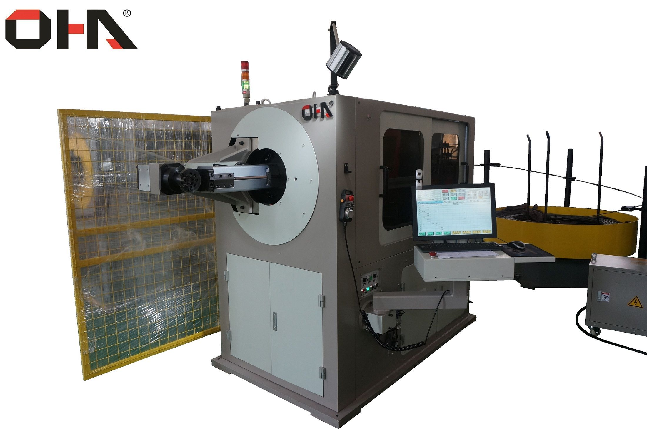 3D-5700 CNC Automatic 3D Wire Bending Machine